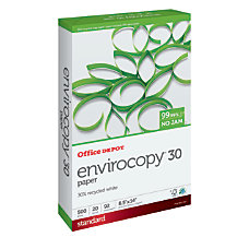 Office Depot Brand EnviroCopy Paper 30