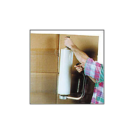 """Office Depot® Brand Blown Hand Stretch Film, 75 Gauge, 18"""" x 1500', Clear, Pack Of 4"""