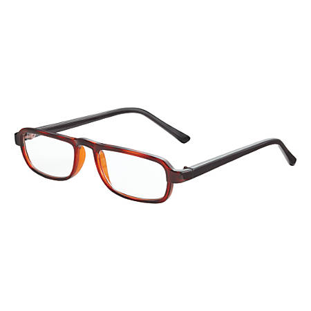 Dr. Dean Edell Carmel Reading Glasses, +1.25, Tortoise