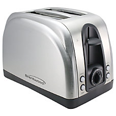 Brentwood 2 Slice Toaster Extra Functions