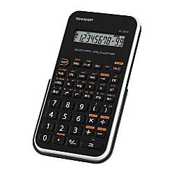 EL 501XBWH Scientific Calculator 10 Digit
