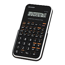 EL 501XBWH Scientific Calculator 10 Digit