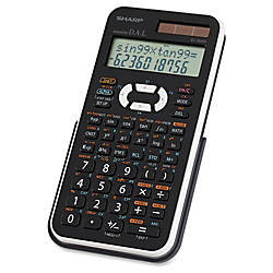 Sharp EL506X Scientific Calculator BlackWhite