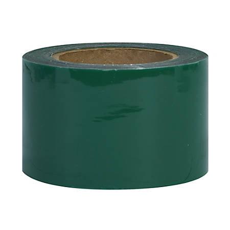 """Office Depot® Brand Color Bundling Stretch Film, 80 Gauge, 3"""" x 1000', Green, Case Of 18"""