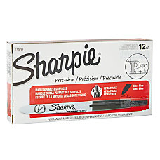 Sharpie Retractable Permanent Markers Ultra Fine
