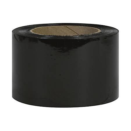 """Office Depot® Brand Color Bundling Stretch Film, 80 Gauge, 3"""" x 1000', Black, Case Of 18"""