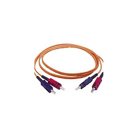 C2G-3m SC-SC 50/125 OM2 Duplex Multimode PVC Fiber Optic Cable - Orange - Fiber Optic for Network Device - SC Male - SC Male - 50/125 - Duplex Multimode - OM2 - 3m - Orange