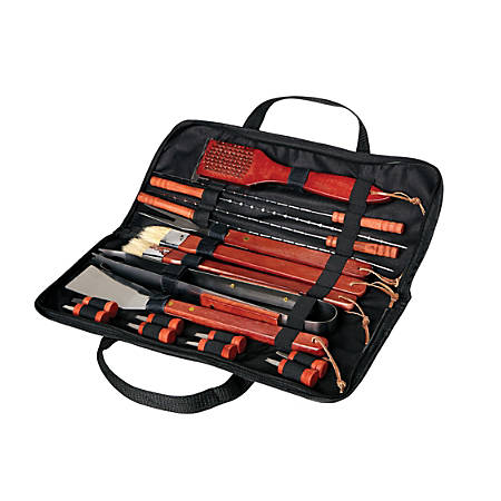 Orbit 18-Piece Barbecue Set With Nylon Carrying Case