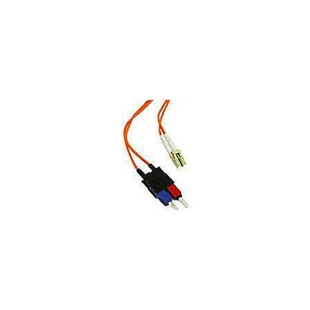 C2G-4m LC-SC 50/125 OM2 Duplex Multimode PVC Fiber Optic Cable - Orange - Fiber Optic for Network Device - LC Male - SC Male - 50/125 - Duplex Multimode - OM2 - 4m - Orange