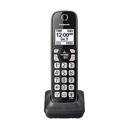 Panasonic® DECT 6.0 Cordless Expansion Handset For Select Panasonic Expandable Phone Systems, KX-TGDA51M