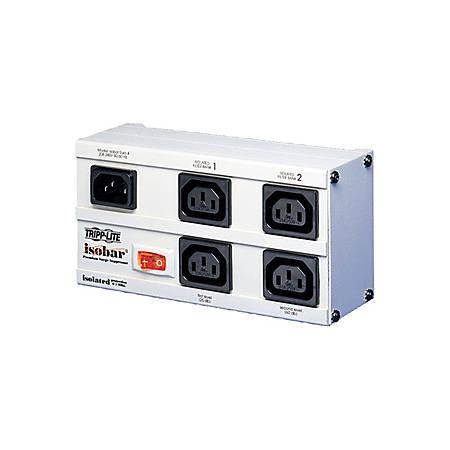 Tripp Lite International Isobar Surge Protector 230V C13 4 Outlet 2M Cord - Receptacles: 4 x IEC 320-C13 - 330J