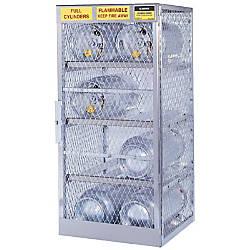 Justrite Horizontal Cylinder Storage Locker 6