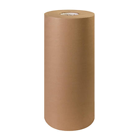 "Office Depot® Brand 100% Recycled Kraft Paper Roll, 40 Lb., 20"" x 900'"