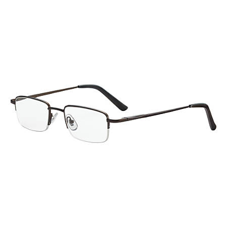 Dr. Dean Edell Tiburon Reading Glasses, +1.50, Titanium