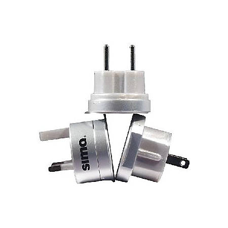 Sima SIP-3 Portable Plug Set for International Travel