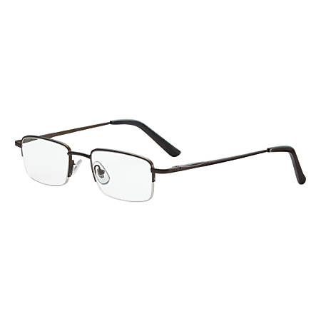 Dr. Dean Edell Tiburon Reading Glasses, +2.50, Titanium