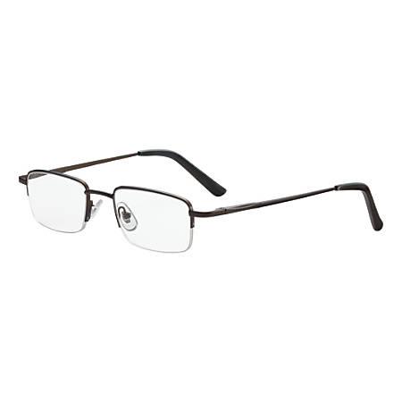 Dr. Dean Edell Tiburon Reading Glasses, +3.00, Titanium