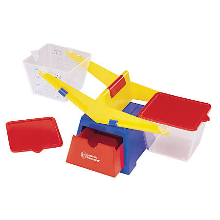 """Learning Resources® Primary Bucket Balance, 6 1/2""""H x 16 1/2""""W x 6""""D, Science, Grades 6 - 12"""