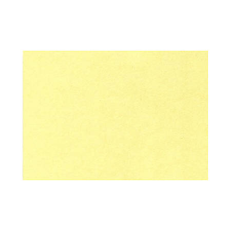 """LUX Flat Cards, A7, 5 1/8"""" x 7"""", Lemonade Yellow, Pack Of 1,000"""