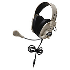 Califone Deluxe Stereo Headset With To