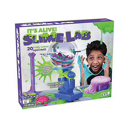 SmartLab QPG Lab For Kids, It's Alive Slime Lab, Grade 3 - 8