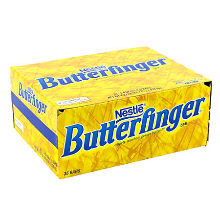 Butterfinger Candy Bars, 1.9 Oz, Pack Of 36