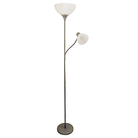 Simple Designs Floor Lamp With Reading