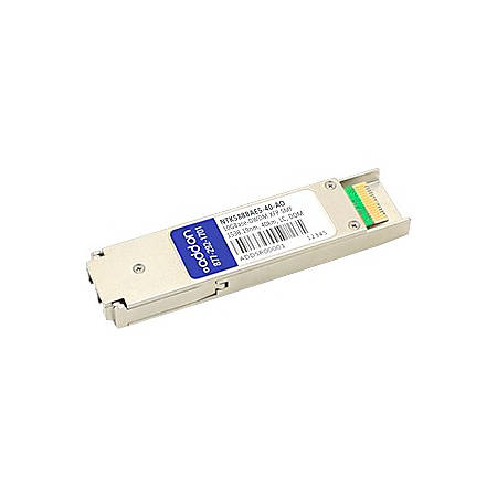 AddOn Ciena NTK588BAE5 Compatible TAA Compliant 10GBase-DWDM 100GHz XFP Transceiver (SMF, 1538.19nm, 40km, LC, DOM)