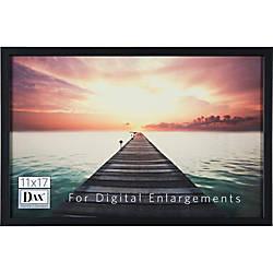 DAX Digital Enlargement Black Wood Frame