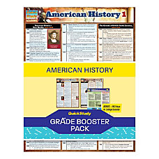 QuickStudy Grade Booster Pack American History