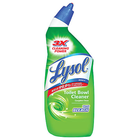 Lysol® Toilet Bowl Cleaner With Bleach, 24 Oz.