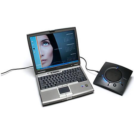 ClearOne CHAT 50 USB Speaker Phone - 1 x Mini Type B , 1 x RJ-45 10/100Base-TX