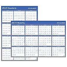 AT A GLANCE VerticalHorizontal Erasable Yearly