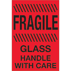 photograph relating to Fragile Glass Labels Printable identified as Transport Labels - Office environment Depot