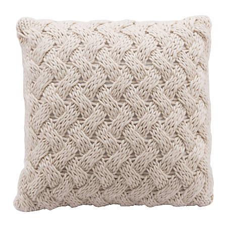 Zuo Modern Irma Pillow, Beige