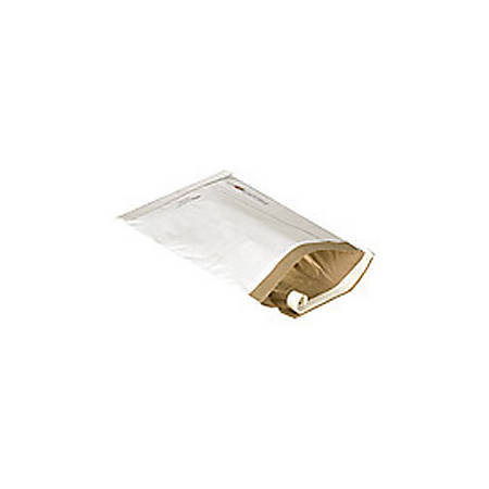 """Office Depot® Brand White Self-Seal Padded Mailers, #1, 7 1/4"""" x 12"""", Pack Of 25"""