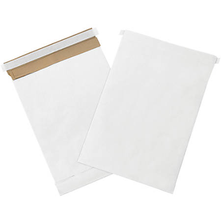 """Office Depot® Brand White Self-Seal Padded Mailers, #4, 9 1/2"""" x 14 1/2"""", Pack Of 25"""