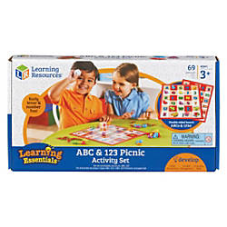 Learning Resources ABC 123 Picnic Board