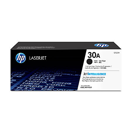 HP High-Yield Black Toner Cartridge, HP 30A / CF230A