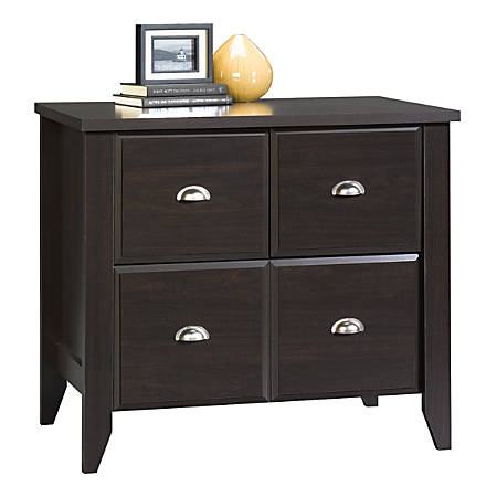 Sauder® Shoal Creek 1-Drawer Lateral File Cabinet, Jamocha Wood