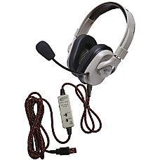 Califone Washable Titanium Headphone W Guaranteed