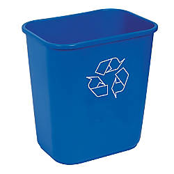 Highmark Recycling Bin 325 Gallons Blue