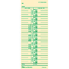 TOPS Named Days Time Cards 3