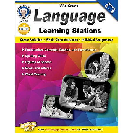 Mark Twain Language Learning Stations Workbook, Grades 6-8