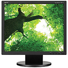 NEC Display AccuSync AS172 BK 17