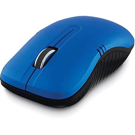 Verbatim Wireless Notebook Optical Mouse, Commuter Series - Matte Blue
