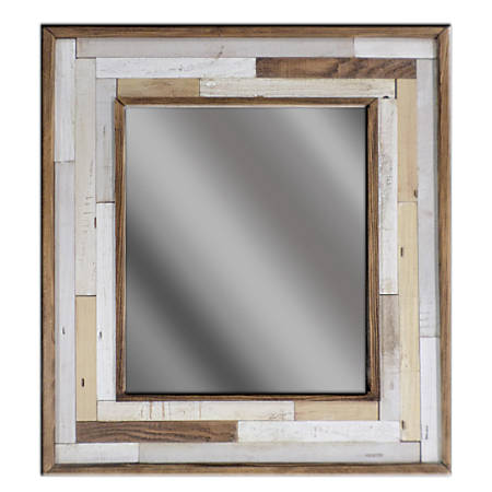 "PTM Images Framed Mirror, Color Patch II, 21 1/2""H x 19 1/2""W, Multicolor"
