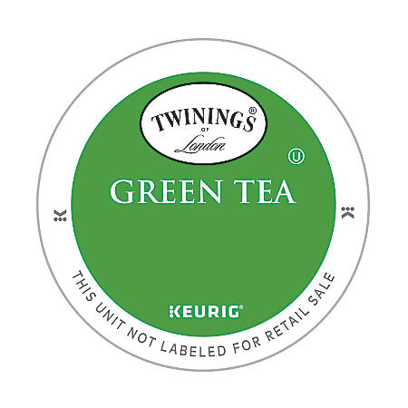Twinings Green Tea K-Cup® Pods, Box Of 24