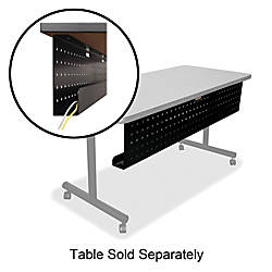 Lorell Rectangular Training Table Modesty Panel