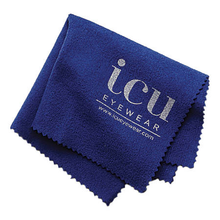 ICU Microfiber Cleaning Cloth, Blue